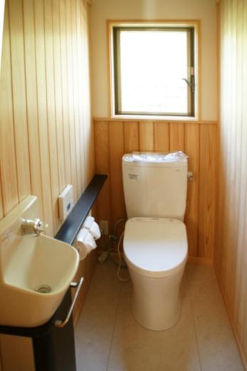 トイレ 和風 腰板
