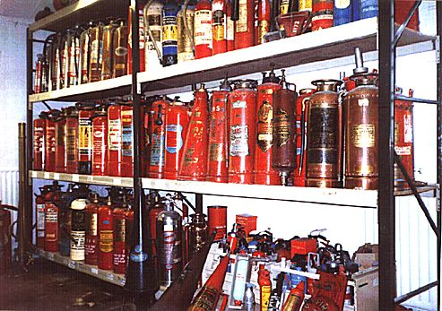 Vintage Fire Extinguisher Emporium for Veteran and Classic