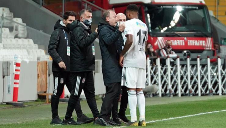 Sergen Yalçın, Larin'in iptal edilen golü sonrası maçın hakemi Cüneyt Çakır'a tepki gösterdi