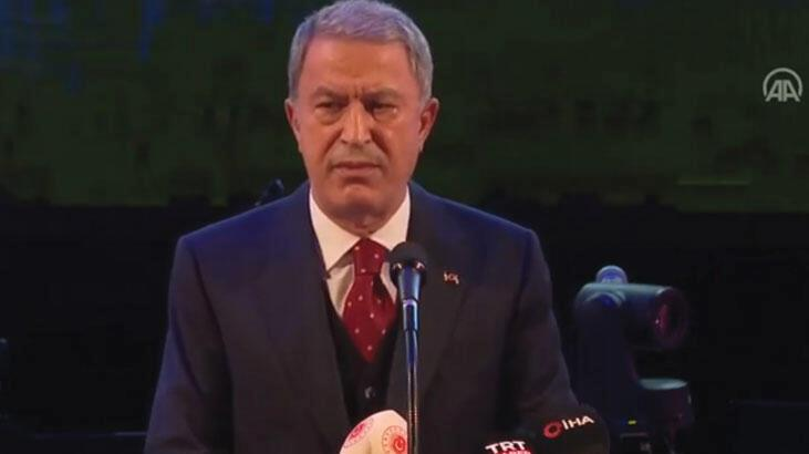 Bakan Akar'dan Yunanistan açıklaması: Asla kabul edilemez