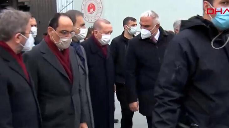 Cumhurbaşkanı Erdoğan'dan AKM'de sürpriz inceleme