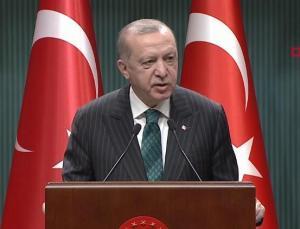 Erdoğan 'Tarihi bir gün' diyerek duyurdu!