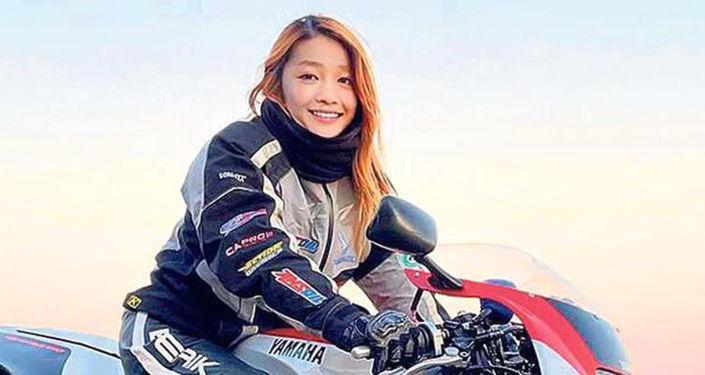 Fenomen olan 'kadın motorcu', bakın kimmiş…