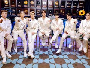 Grammy adayı BTS grubu '2020'nin en çok satan şarkıcıları' listesinde ilk sırada