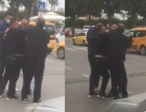 Hasan Şaş, Adana Havalimanı'nda kavga etti! 'Ağzını burnunu kırarım'