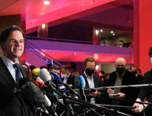 Hollandaseçimlerinde Rutte üst üste 4. kez kazandı