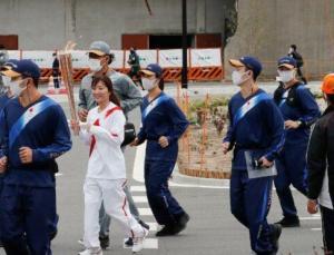 Olimpiyat meşalesi Fukushima'dan yola çıktı