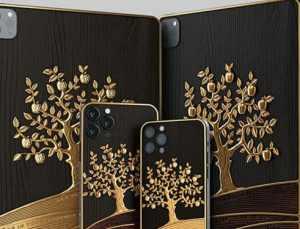 Rusya'da üzerinde 1 kilogramdan fazla altın bulunan lüks Apple iPad Pro üretildi