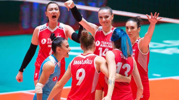 A Milli Kadın Voleybol Takımı'nın Milletler Ligi maç programı belli oldu