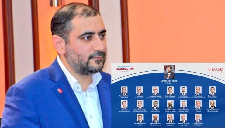 Saadet Partisi İstanbul Kadın Kolları Sorumluluğuna bir erkek atandı