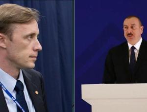 Aliyev ve Sullivan arasında kritik görüşme