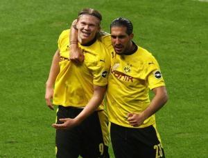 Almanya Kupası'nda şampiyon Borussia Dortmund