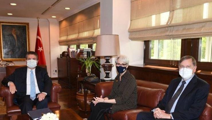 Biden yönetiminden Ankara'ya ilk ziyaret sonrası Türkiye ve ABD'den değerlendirmeler
