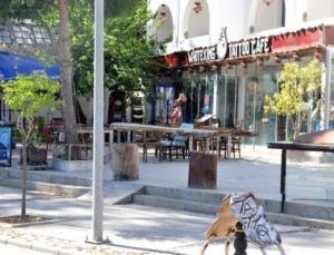 Bodrum'da kafeye ateş açıldı, iki kişi yaralandı