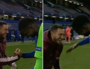 Chelsea Real Madrid maçı sonrası büyük tepki gören Eden Hazard özür diledi