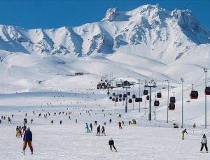 Erciyes bu sezon 250 bin kayakçıyı ağırladı