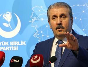 Mustafa Destici: İçişleri Bakanının itibarsızlaştırılmasını hiçbir şartta kabul edemeyiz