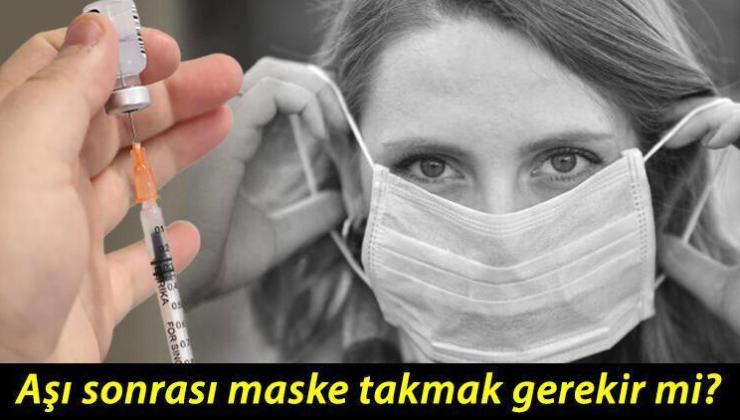 DSÖ'den koronavirüs aşısı sonrası maske uyarısı