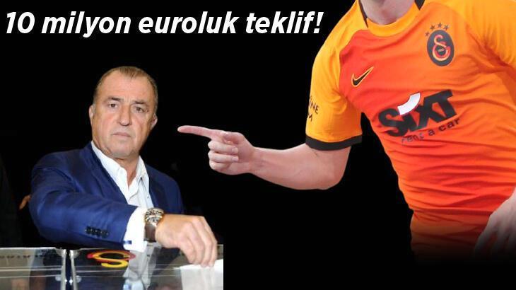 Galatasaray'a tam 10 milyon euroluk teklif!