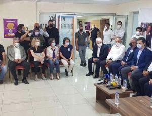 İzmir'de CHP heyetinden HDP'ye Deniz Poyraz için taziye ziyareti