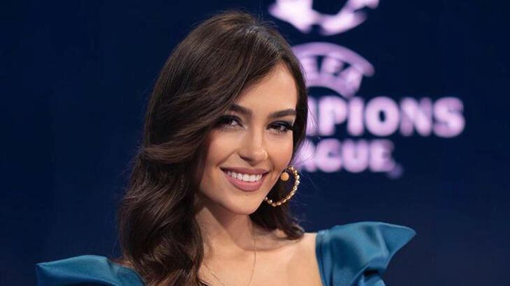 Şampiyonlar Ligi spikeri Eva Murati, tatil için Antalya'da!