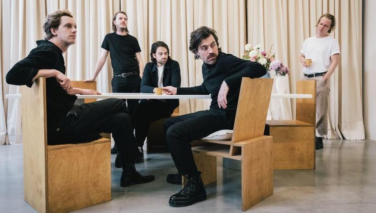 Belçikalı indie rock grubu Balthazar Türkiye'ye geliyor