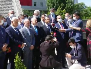 CHP, TBMM 15 Temmuz Şehitler Anıtı'nda!