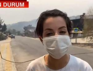 CNN TÜRK ekibinin Manavgat'ta korku dolu anları! 'O an öldüğümüzü düşündük'
