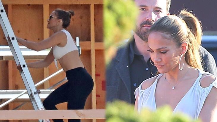 Jennifer Lopez ve Ben Affleck aşk yuvası arıyor: Çatıya tırmandı!