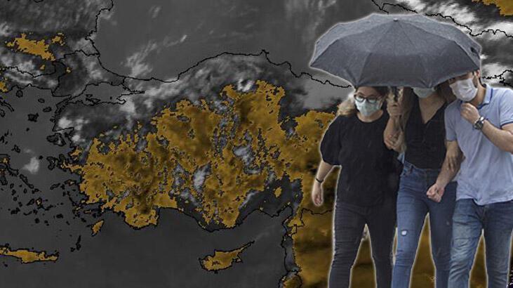Meteoroloji'den flaş 'sarı' ve 'turuncu' uyarı