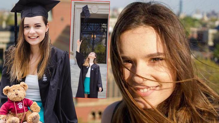 Oyuncu Ece Hakim en başarılı 25 Türk öğrenci arasına girdi