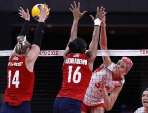 TOKYO 2020   A Milli Kadın Voleybol Takımı ABD'ye mağlup oldu