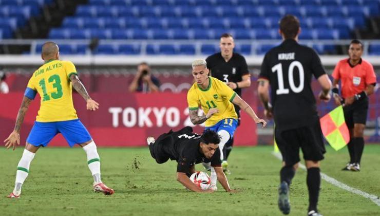Tokyo'da Brezilya'dan Almanya'ya farklı tarife!