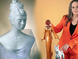 Türk heykeltraşın 'Camdan Kadınları' ABD'de sergileniyor
