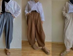 Sezonun yeni trendi şalvar pantolonlar