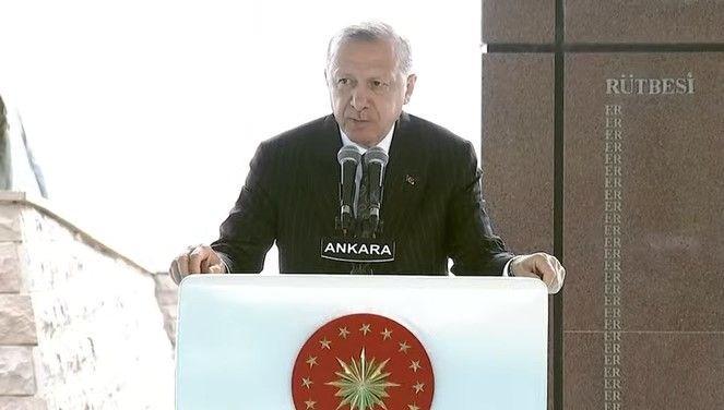 cumhurbaşkanı erdoğan:2023 hedeflerimiz küresel senaryolara karşı bir başkaldırı