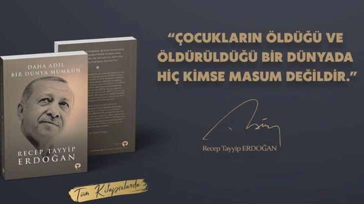 cumhurbaşkanı erdoğan'ın kaleme aldığı kitap çıkıyor
