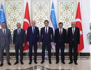kurtulmuş, özbekistan başbakan yardımcısı umurzakov ile görüştü