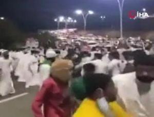 suudi arabistan'ın ulusal gün kutlamalarında kavga çıktı