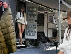 yasemin-i̇zzet özilhan çifti karavanlarıyla tatile çıktılar