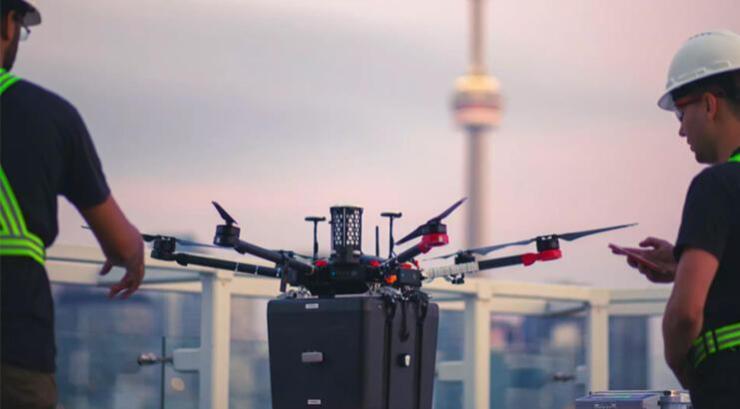 dünyada ilk kez bir hastaya drone ile akciğer taşındı