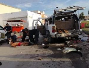 meksika'da güvenlik güçleri ile silahlı grup arasında çatışma