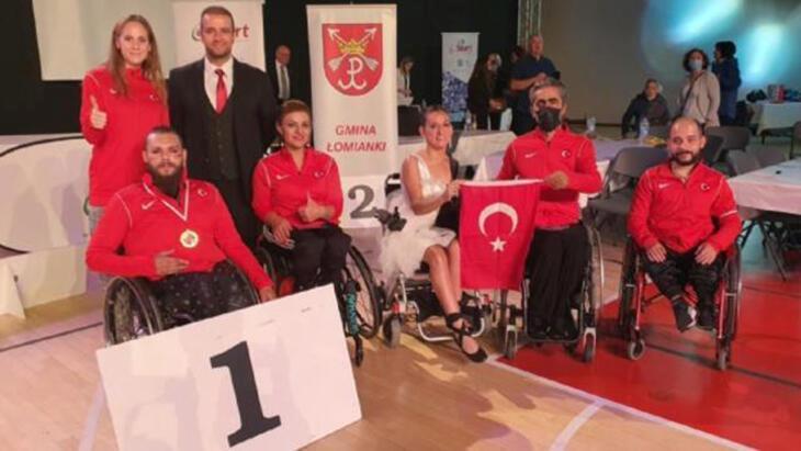milli para dansçı barış bayraktar, polonya'da altın madalya kazandı