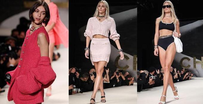 paris moda haftasi chanel ilkbaharyaz 2022 defilesinden satir baslari