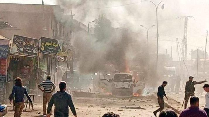 pkk/ypg'den afrin'e bomba yüklü araçla saldırı: 6 ölü, 17 yaralı
