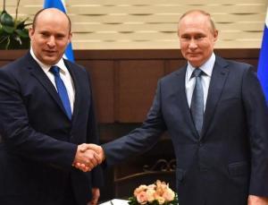 putin, ilk kez i̇srail başbakanı naftali bennet'i kabul etti