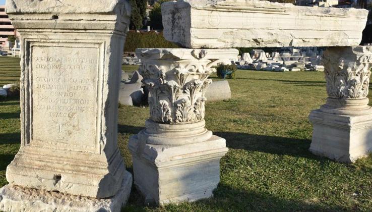 Smyrna Agorası'ndaki belgelerde İzmir'in önceki depremleri ortaya çıktı