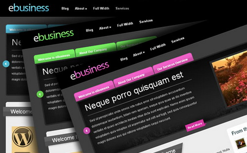 eBusiness WordPress Theme (Smooth)