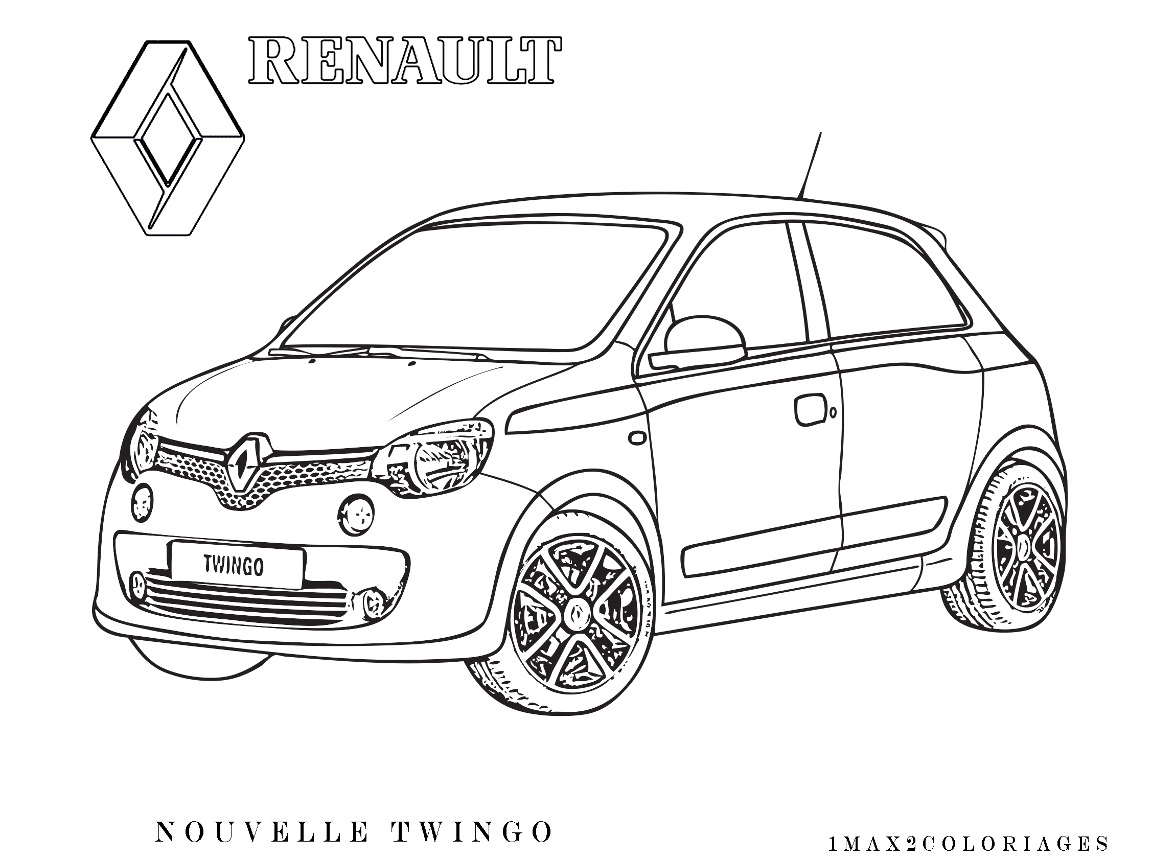 Pin Coloriage Voiture De Sport on Pinterest