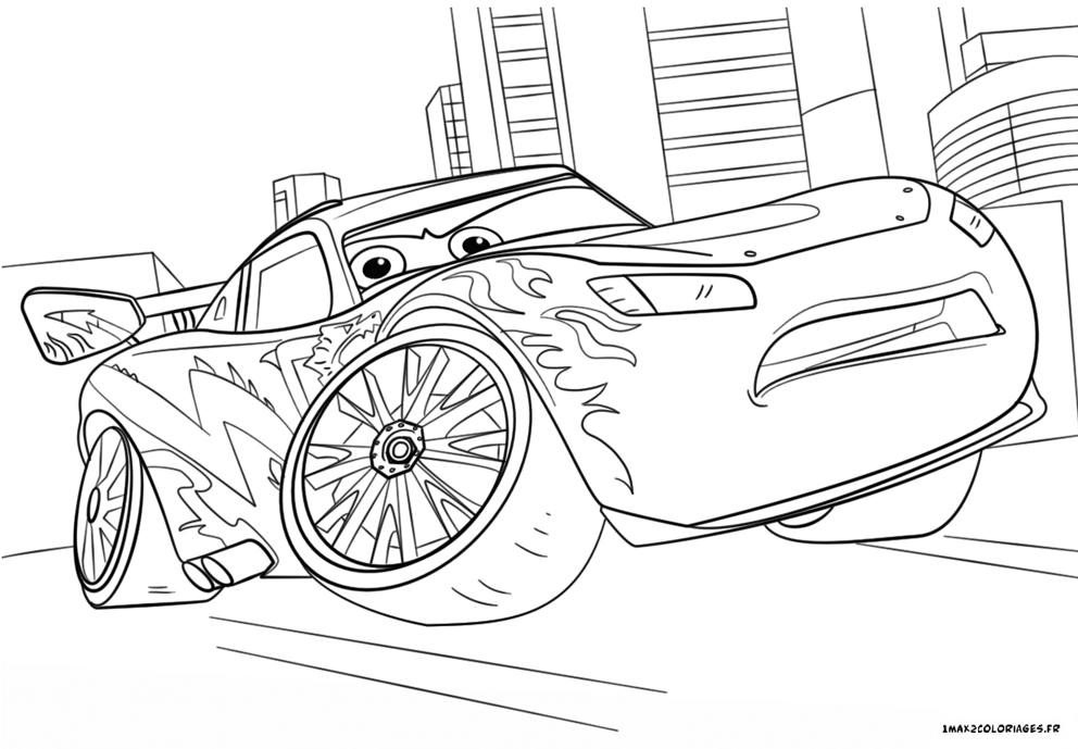 Disney Cars Coloring Pages Lightning Mcqueen